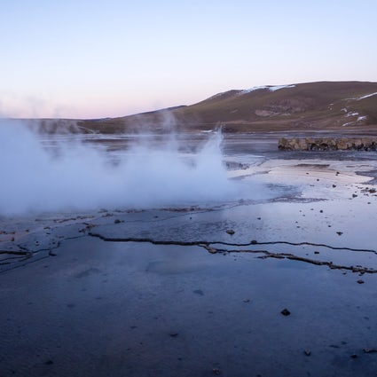 Natural wonders; El Tatio Geysers and the Puritama hot springs