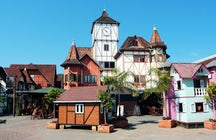 Blumenau, the host city of Brazil's Oktoberfest
