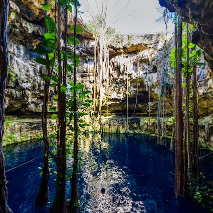 A magical tour around Yucatan's cenotes