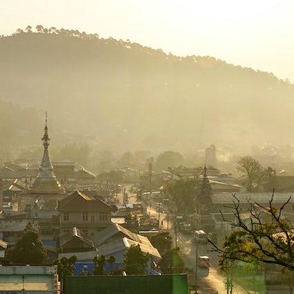 Trekking in Kalaw, Shan-Staat