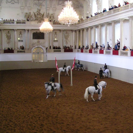 The Ballet of White Stallions: Spanish Riding School Vienna
