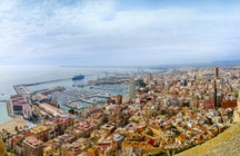 Alicante's grand castle