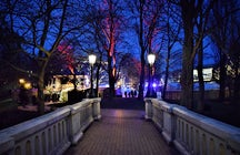 Christmas market in Ostend