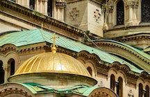 La Catedral Alexander Nevsky en Sofía