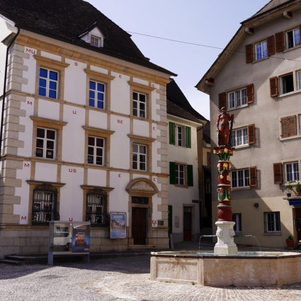 Delémont, the capital of Canton Jura