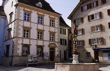 Delémont, the capital of Canton Jura