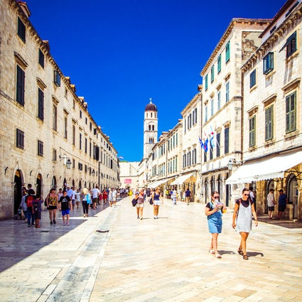 Stradun in Dubrovnik will surpass your expectations