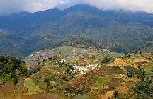 Around Mt. Ciremai, Central Java: waterfalls, lakes & viewpoints