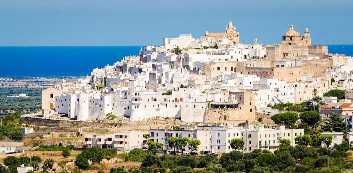 Ostuni, the white city of Apulia