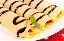 Ungarns bevorzugte Nachspeise:  Palatschinken (Palacsinta)