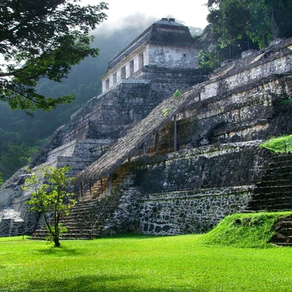 Palenque: the most beautiful ruins