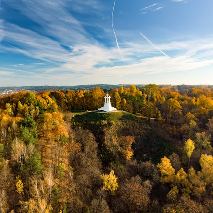 The legend of the Hill of Three Crosses in Vilnius