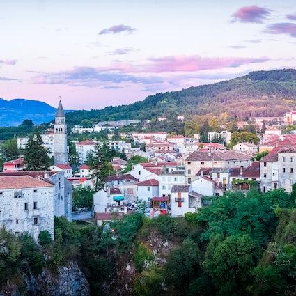 Pazin, capitale et véritable cœur de l'Istrie