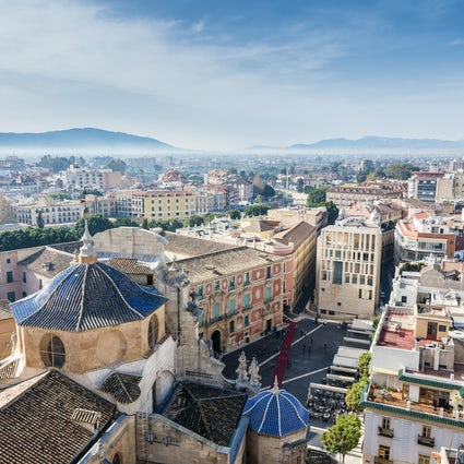 A visit to the city of Murcia