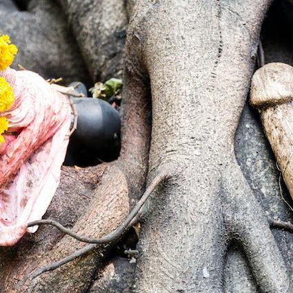 Bizarro Bangkok: santuarios espirituales