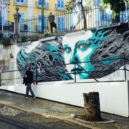 Arte Urbano en Lisboa 1: los barrios de moda