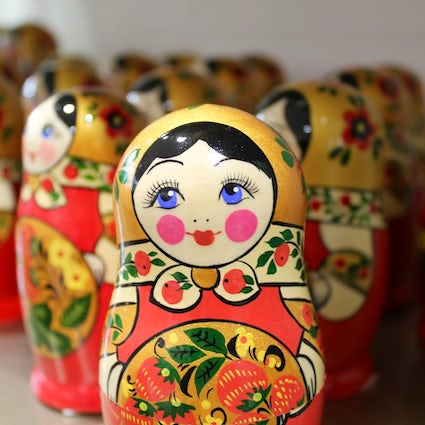Sergiev Posad, the birthplace of Russian Matryoshka