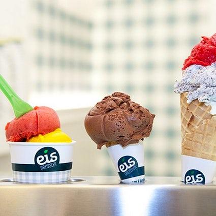 Eis Greissler: des glaces au fromage, à la citrouille, au chanvre