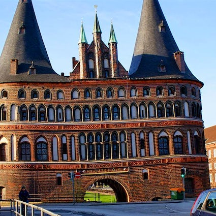 A Cold Day in Germany's Lubeck