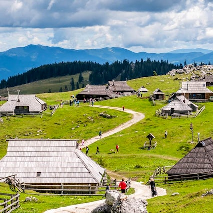 Velika Planina - a hiking paradise in the heart of nature