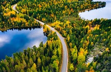 Finland: the world's happiest country & its thousand lakes