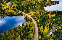 Finlandia: el país más feliz del mundo y sus mil lagos