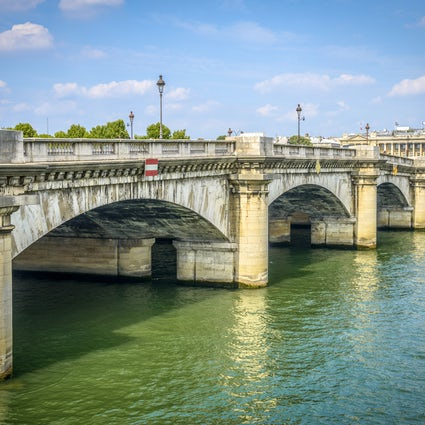 Iconic bridges in Paris: Concorde