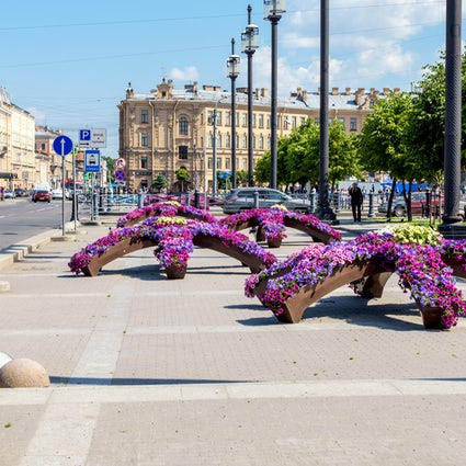 Sennaya Square: Der Bauch von Sankt Petersburg