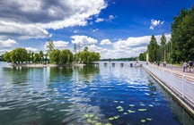 "A tour of Ternopil Lake - to the beat of ""Ternopil Fine Town"""