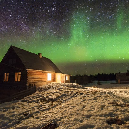 The magic of the northern lights
