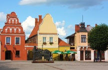 What a UK band Bastille did in Kėdainiai, a small Lithuanian city?
