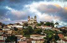 Explore Ouro Preto in Minas Gerais- the city of gold
