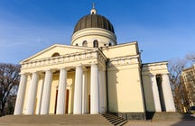 The Nativity Cathedral in Chisinau, a masterpiece of Neoclassicism