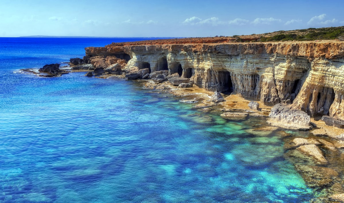 50 Shades of Blue: Cyprus!