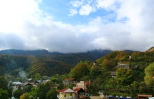 La ciudad de Ijevan y sus alrededores