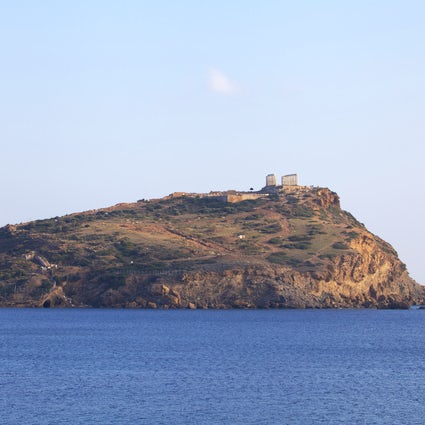 The Temple of Poseidon in Cape Sounion