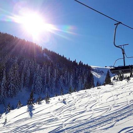 Wo kann man in Zentralbosnien Ski fahren?