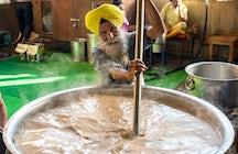 Amritsar: ein köstlicher Kessel der Aromen