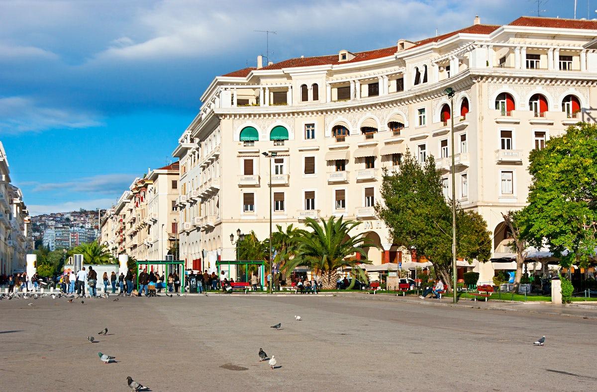 The story behind Thessaloniki's Landmarks; Aristotelous Square