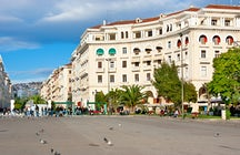 The story behind Thessaloniki's Landmarks; Aristotelous Square