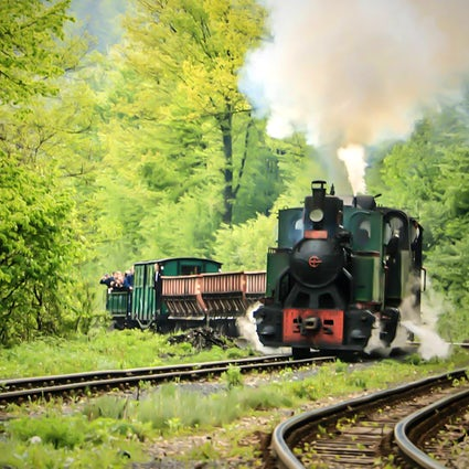 Ćiro à Banovići, la plus ancienne locomotive en Europe