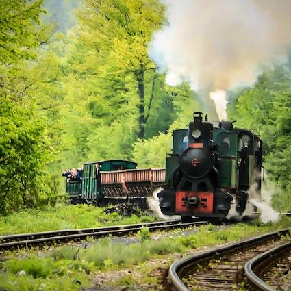 Europe's oldest working locomotive - Ćiro in Banovići