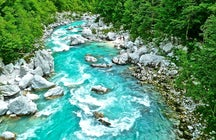 Soča River - the beauty in blue
