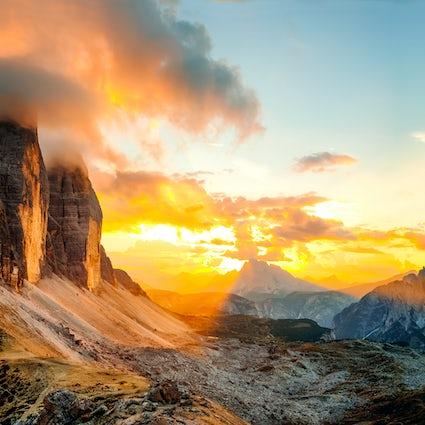 Three times Tyrol: Three times beauty