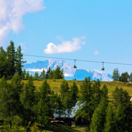 Bukovel, a scenic active holiday spot in the Carpathian Mountains