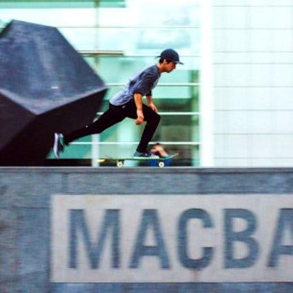 Le spot de skateboard MACBA à Barcelone est-il surcoté ?