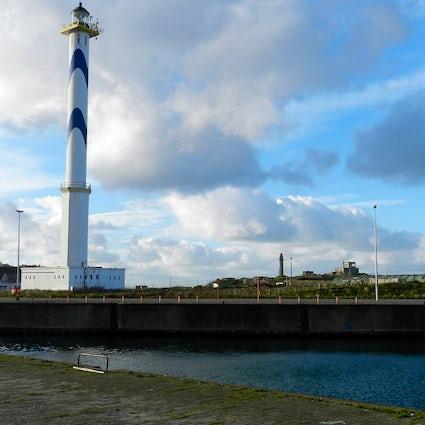 En la costa belga