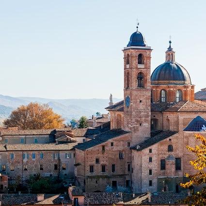 Urbino, das Kulturzentrum der Renaissance