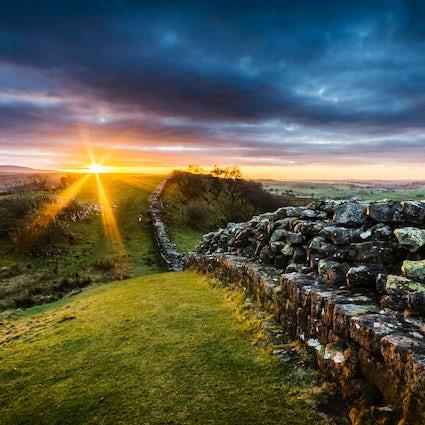 De muur - het scheiden van het zuiden van het noorden