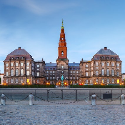 The Christiansborg Palace -aka Borgen